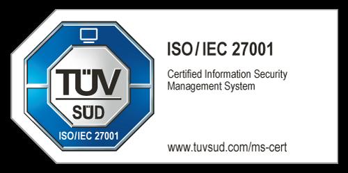 TÜV ISO 27001
